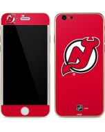 New Jersey Devils Solid Background iPhone 6/6s Skin