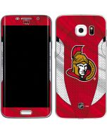 Ottawa Senators Home Jersey Galaxy S6 Edge Skin