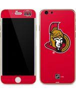 Ottawa Senators Solid Background iPhone 6/6s Skin