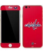 Washington Capitals Solid Background iPhone 6/6s Skin