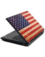 Distressed American Flag Lenovo T420 Skin