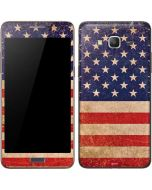 Distressed American Flag Galaxy Grand Prime Skin