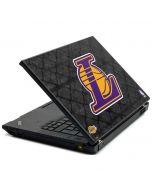 Los Angeles Lakers Dark Rust Lenovo T420 Skin