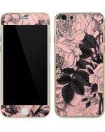 Rose Quartz Floral iPhone 6/6s Skin