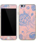 Rose Quartz & Serenity Floral iPhone 6/6s Skin