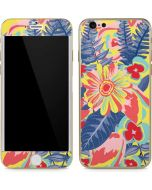 Mirrored Flowers iPhone 6/6s Skin