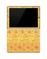 Tribal Elephant Yellow Surface Pro 3 Skin