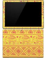 Tribal Elephant Yellow Surface Pro 4 Skin