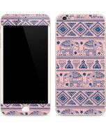 Tribal Elephant Pink iPhone 6/6s Plus Skin