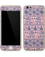 Tribal Elephant Pink iPhone 6/6s Skin