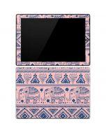 Tribal Elephant Pink Surface Pro 3 Skin