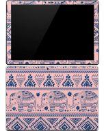Tribal Elephant Pink Surface Pro 4 Skin
