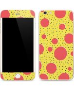 Spring Yellow Polka Dots iPhone 6/6s Plus Skin