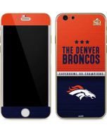 Denver Broncos Super Bowl 50 Champions iPhone 6/6s Skin