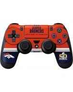 Denver Broncos Super Bowl 50 Champions PS4 Controller Skin