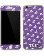 TCU Horned Frogs Logo Print iPhone 6/6s Skin
