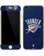 OKC Thunder Distressed Blue iPhone 6/6s Skin