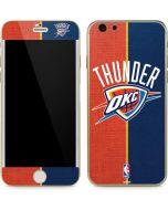 OKC Thunder Split iPhone 6/6s Skin