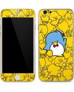 Tuxedosam Yellow Cluster iPhone 6/6s Skin