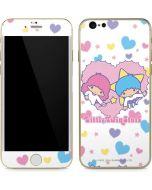 Little Twin Stars Hearts iPhone 6/6s Skin