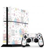 Little Twin Stars Shooting Star PS4 Console and Controller Bundle Skin