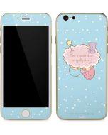 Little Twin Stars Puffy Cloud iPhone 6/6s Skin