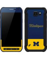 University of Michigan Split Galaxy S6 Active Skin