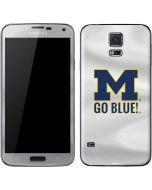 Michigan Go Blue Galaxy S5 Skin