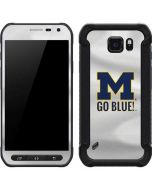 Michigan Go Blue Galaxy S6 Active Skin
