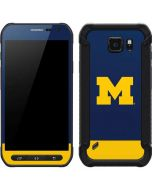 University of Michigan Logo Galaxy S6 Active Skin