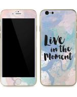Live In The Moment Pastel iPhone 6/6s Skin