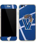 Villanova Basketball Print iPhone 6/6s Skin