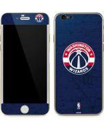 Washington Wizards Blue Distressed iPhone 6/6s Skin