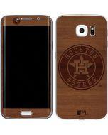 Houston Astros Engraved Galaxy S6 Edge Skin