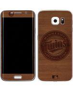 Minnesota Twins Engraved Galaxy S6 Edge Skin
