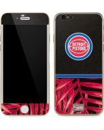 Detroit Pistons Retro Palms iPhone 6/6s Skin
