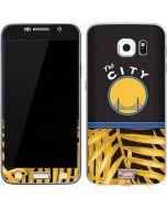 Golden State Warriors Retro Palms Galaxy S6 Skin