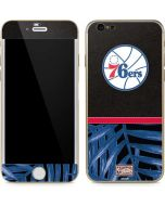 Philadelphia 76ers Retro Palms iPhone 6/6s Skin