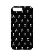 Skull and Crossbones (white) iPhone 7 Plus Pro Case