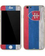 Slovakia Flag Distressed iPhone 6/6s Skin