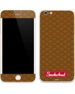Sneakerhead Gold Pattern iPhone 6/6s Plus Skin
