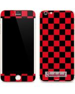 Sneakerhead Red Checkered iPhone 6/6s Plus Skin