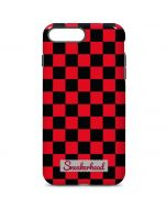 Sneakerhead Red Checkered iPhone 7 Plus Pro Case