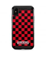 Sneakerhead Red Checkered iPhone XS Max Cargo Case