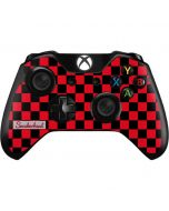 Sneakerhead Red Checkered Xbox One Controller Skin