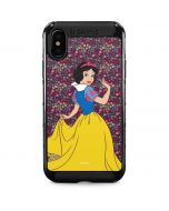 Snow White Floral iPhone XS Max Cargo Case