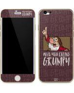 Snow White Grumpy iPhone 6/6s Skin
