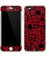Snow White Icon Pattern iPhone 6/6s Skin