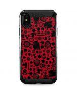 Snow White Icon Pattern iPhone XS Max Cargo Case