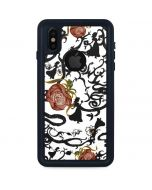 Snow White Roses iPhone X Waterproof Case